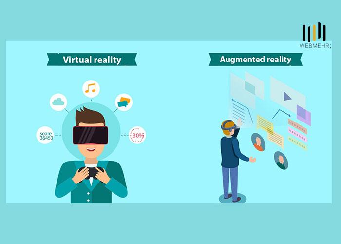 تفاوت میان VR و AR