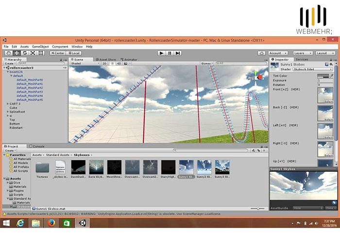 ساخت نرم افزار VR با یونیتی
